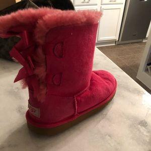 UGG pink girls boots